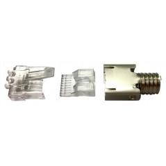 Cargador USB BROBOTIX 161264A, USB, Turquesa Cargador para pared de USB