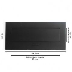 Caja para Mesa HDMI, USB, RJ45 Cat.5e-Cat.6, VGA, Audio 3.5mm, AC, Negro, Caja de contactos para escritorio Modulo de escritorio