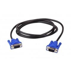 Cable VGA 20 Metros Macho a Macho Cable VGA Puntas Azules Cable DB15 de 20 Metros Cable de Video