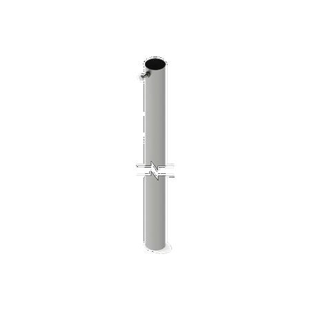 """Sección 1 de Mástil Ligero Telescópico, 3 metros altura, 1 1/2"""" de Diámetro Mastil"""