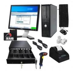 Kit Punto De Venta - Pc Uso- Lector Miniprinter Cajon Nuevos Kit de puntos de Venta Kit de punto de Venta Accesorio 4 de RAM