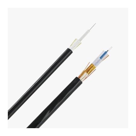 (Venta x Metro) Cable de Fibra Óptica 6 hilos, Multimodo OM3 50/125 , Interior/Exterior Dieléctrica Riser
