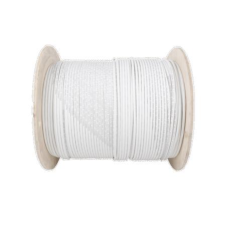 Bobina de Cable Blindado S/FTP de 4 pares, Cat7, Inmune a Ruido e Interferencias, LSZH (Bajo humo, Cero Halógenos