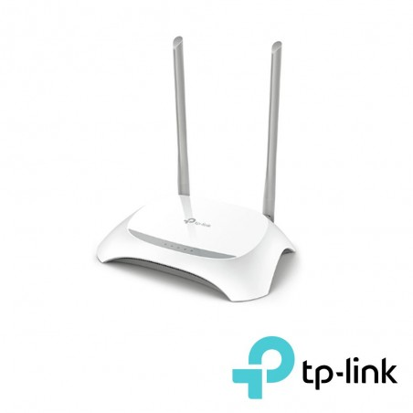 Router Inalámbrico WISP con Configuración de fábrica personalizable, 2.4 GHz, 300 Mbps, 4 Puertos LAN 1 WAN