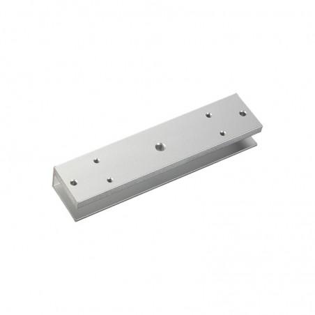 Soporte para montaje de electroimán para puerta de vidrio sin marco de 280 Kg Soporte en U