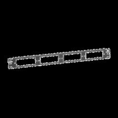 Panel para escritorio Caja para escritorio Panel de escritorio 2 toma corriente 1 HDMI Hembra -Hembra 1 RJ45 Cat6
