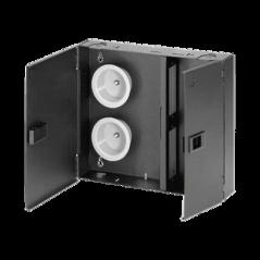 Panel para escritorio Caja para escritorio Panel de escritorio 2 Conectores de Corriente con Tierra/2 RJ45 Cat6/1VGA