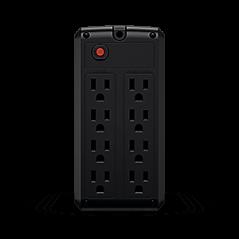 UPS de 1000 VA/500 W, Topología Línea Interactiva, Entrada 120 Vca NEMA 5-15P, y 8 Salidas NEMA 5-15R, Puerto USB, Con Regulador