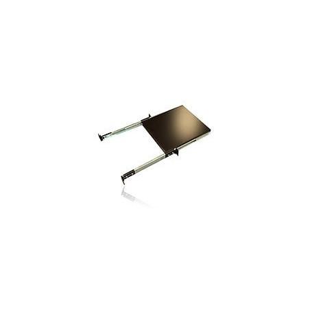 """Charola para Gabinete de 19"""" 40x60cm de profundidad Charola Ajustable para Servidor de 4 postes para Rack Gabinete"""