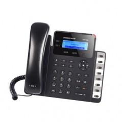 Teléfono IP SMB de 2 líneas con 3 teclas de función, 8 teclas BLF y conferencia de 3 vías, PoE