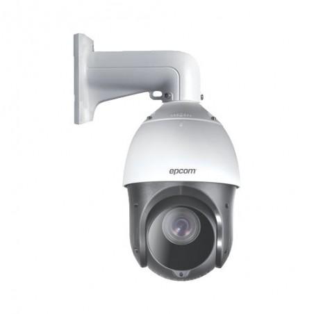 Domo PTZ TurboHD 2 Megapixeles (1080P) / 15X Zoom / 100 mts IR EXIR / Exterior IP66 / WDR 120 dB / RS-485 Camara con movimiento