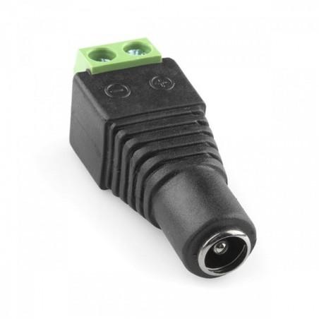 Conector Hembra para CCTV Conector Hembra para Camara Conector para Camara Verde Conector con Tornillos
