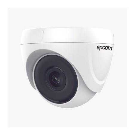 Eyeball TURBOHD 2 Megapixel (1080p) / Gran Angular 103° / Lente 2.8 mm / EXIR Inteligente 20 mts / Interior