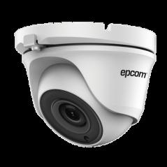 Eyeball TURBOHD 1 Megapixel (720p) / METALICA / Gran Angular 92° / Lente 2.8 mm / IR Inteligente 20 mts / Exterior IP66