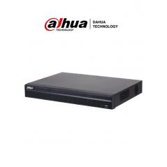 NVR de 16 Canales 4k 128 MBPS Soporta Camaras de Hasta 8 Megapixeles Hasta 2 Discos Duros