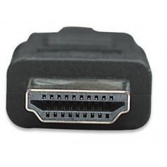 Cable Manhattan De Video Hdmi (m-m) 2 Mts Cable HDMI 4k FULL HD Cable de Video HD Cable Manhattan