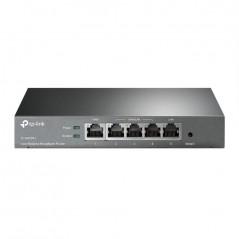 Router Balanceador de Carga Multi-Wan, 1 puerto LAN 10/100 Mbps, 1 puerto WAN 10/100 Mbps, 3 puertos LAN/WAN
