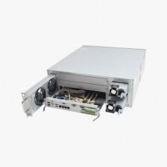 Domo IP 2 Megapixel / Lente Mot. 2.8 a 12 mm / 30 mts IR EXIR / WDR 120dB / IP67 / IK10 / PoE / Exterior / ONVIF