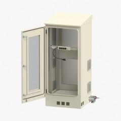 Bala IP 4 Megapixel / 50 mts IR EXIR / Exterior IP67 / IK10 / WDR / PoE + / Entradas de Alarma y Audio / Lente Mot. 2.8 a 12 mm