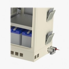 Bala IP 6 Megapixel / 50 mts IR EXIR / Exterior IP67 / IK10 / WDR / PoE+ / Entradas de Alarma y Audio / Lente Mot. 2.8 a 12 mm