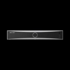 NVR 12 Megapixel (4K) / Reconocimiento Facial / 16 Canales IP / Base de Datos / Hasta 100,000 Fotografías / 16 Puertos PoE+