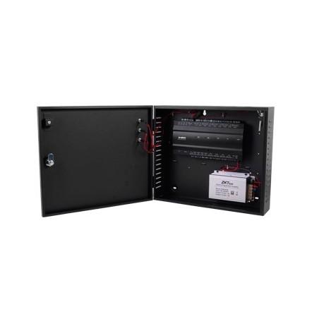 Controlador de Acceso / 2 PUERTAS / Biometría Integrada / Hasta 20,000 Huellas / 30,000 Tarjetas / Incluye Gabinete