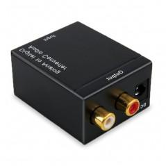 Convertidor De Audio Digital A Análogo Óptico Rca Compuesto Convertidor de Audio Digital a Analogo