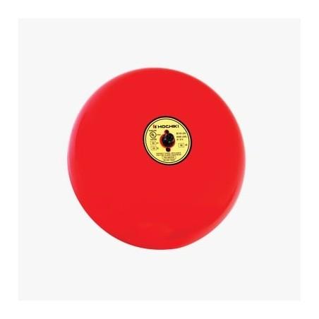 Campana para alarma de incendio, 10 pulgadas, 24 Vcd Campana tipo escuela sirena para incendio Campana Metalica