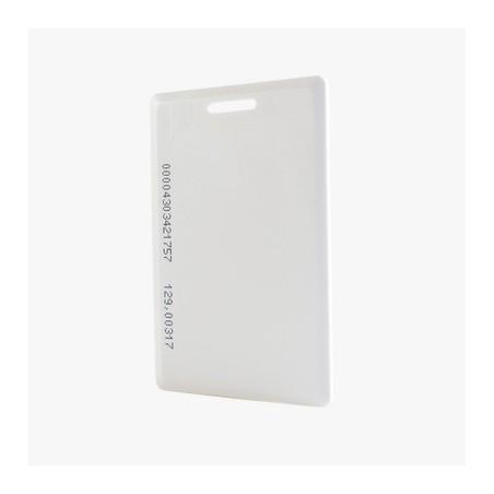 Tarjeta de proximidad estándar, perforada (gruesa), fabricada con el PVC más resistente de la industria 26 Bits