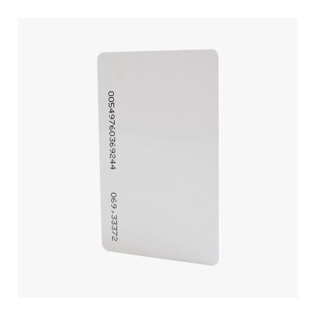 Tarjeta de Proximidad Estándar ISO Card (delgada). De las más alta calidad para Impresión 125 KHz 26 Bits