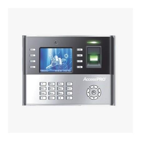 Reloj checador IP 10,000 huellas y 10,000 tarjetas / Toma foto de checada / Control de acceso Asistencia para personal