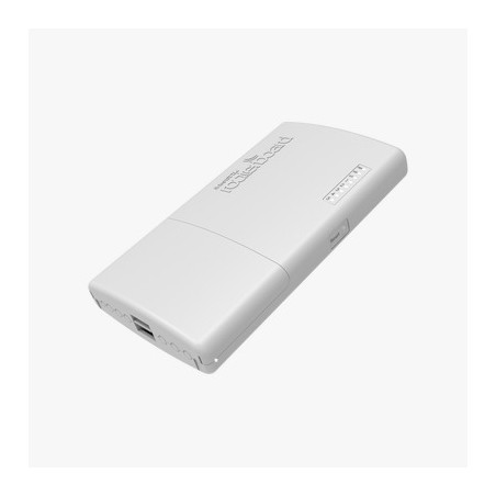 (PowerBox Pro) Router para exterior 5 puertos Gigabit, PoE 802.3af/at