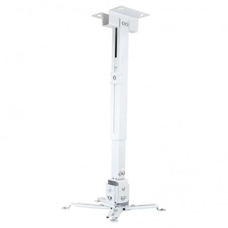 Soporte para Proyector Soporte Universal para Proyector Soporte Blanco para Proyector Medidas de 43cm hasta 63cm