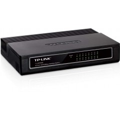 Switch no administrable de 16 puertos 10/100 Mbps para escritorio Switch de 16 puertos Divisor de RJ45