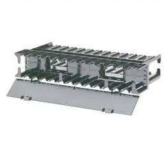 Pasacables De Plástico Negro De 60mm Tapón Pasa Cables Vga Usb Escritorio Mesa Barra 60mm