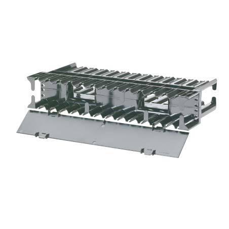 Pasacables De Plástico Negro De 71mm Tapón Pasa Cables Vga Usb Escritorio Mesa Barra 71mm