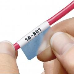 """Cassette de etiqueta autolaminable P1™, 0.75"""" de ancho x 1.50"""" de largo, Cat 5e/Cat 6 200 etiquetas/cassette"""