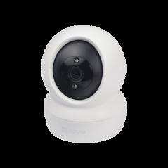 Kit de Alarma Residencial con Sensor de Movimiento y Contactos Magneticos, Incluye Sirena, Bateria y Transformador