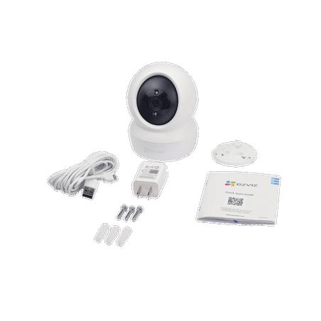 Mini Cámara IP PT 2 Megapíxel Wi-Fi Seguimiento Inteligente Audio de Dos Vías Notificación Push Ranura para Memoria
