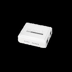 Inyector PoE 802.3af de 1 Puerto 10/100 Mbps (Mid-Span) inyector de 15.4 watts 15.4w