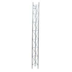 Tramo de Torre Arriostrada de 3m x 30cm, Galvanizado por Inmersión, Hasta 30 m de Elevación. Zonas Húmedas.