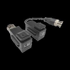 Kit de Transceptores (Baluns) TurboHD Hasta 4K / 5 MP / HD-TVI/HD-CVI/AHD/CVBS / Conector 100% COBRE