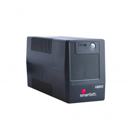 Regulador de voltaje Smartbitt Smart Interactive SBNB800 800VA entrada y salida de 120V CA negro