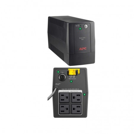 Ups/regulador Apc Bx600l-lm 120 V No break de 600va Regulador APC con 4 tomas/4 Salidas para computadoras, xbox, laptop