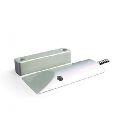 Sensor Magnetico de Cortina Metalico NC Sensor para cortina Sensor Metalico para cortina alarma alambrico Normalmente Cerrado