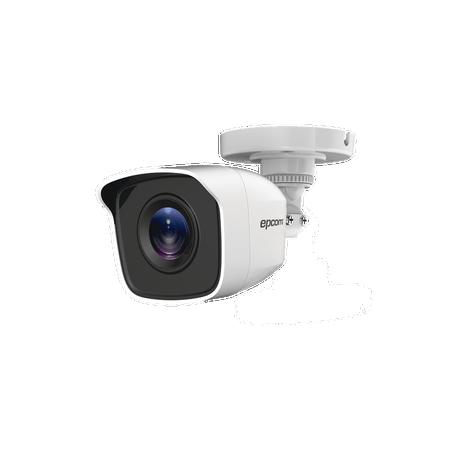 Bullet TURBOHD 1 Megapíxel (720p) / METÁLICA / Gran Angular 92° / Lente 2.8 mm / IR EXIR Inteligente 20 mts / Exterior IP66