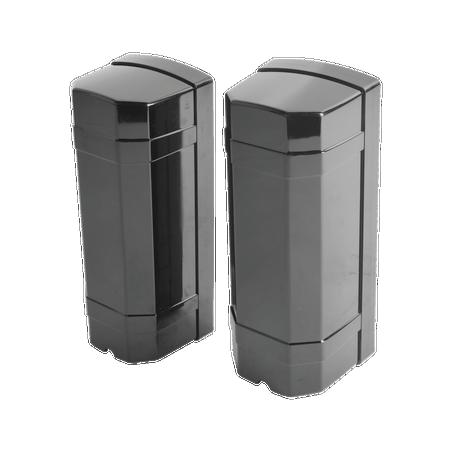 Detector de rayo fotoeléctrico / 2 rayos / 4 frecuencias / 60mts exterior / Alimentacion 12-24 VDC/VAC