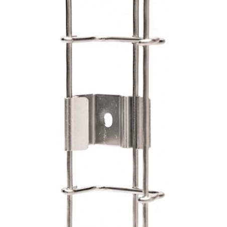 Bobina de 305 metros de Alambre 14 AWG 2 Conductores tipo CM-CL2 Blanco para aplicaciones de alarmas de Intrusión Automatización