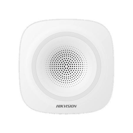 (AX HUB) Sirena Inalámbrica Interior / 110 dB para panel de alarma hikvision AXPRO