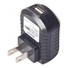 Cargador USB profesional de 1 Puerto, de 5 Vcc, 1 Amper Para Smartphones y Tablets Voltaje de entrada de 100-240 Vca